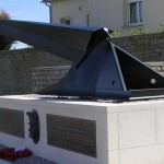 Arromanches-les-Bains, monument Major Allan Beckett