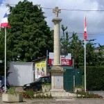 Tailleville, la place du Royal North Shore Regiment