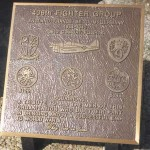 Avranches, plaque 406th Fighter Group