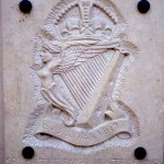 Cambes-en-Plaine, plaque 2nd Battalion The Royal Ulster Rifles