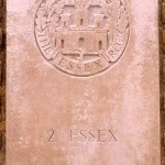 Fontenay-le-Pesnel, plaque 2nd Battalion Essex Regiment