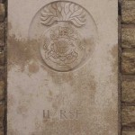 Fontenay-le-Pesnel, plaque 11th Battalion Royal Scots Fusiliers