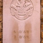 Fontenay-le-Pesnel, plaque 6th 7th Battalions Duke of Wellington