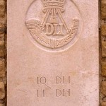 Fontenay-le-Pesnel, plaque 10th 11th Battalions Durham Light Infantry
