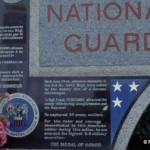 Grancamp-Maisy, monument National Guard