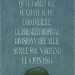Hiesville, monument hôpital 101st US Airborne Division