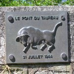 Le Bény-Bocage, plaque 11th Armoured Division