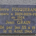 May-sur-Orne, plaque Jean Grain