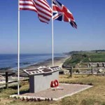 Port-en-Bessin, monument 47th Royal Marine Commando