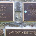 Saint-Jean-de-Savigny, monument 29th US Infantry Division
