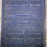 Vierville-sur-Mer, plaque 11th Port Battalion