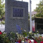 Villers-Bocage, monument 7th Armoured Division