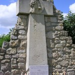 Bénouville, monument 7th Light Infantry Battalion