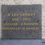 Courseulles-sur-Mer, tombe Leo Gariepy