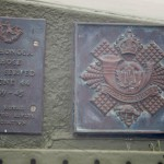 Courseulles-sur-Mer, plaque The Royal Winnipeg Rifles & The Royal Highland Fusiliers of Canada