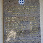 Domjean, plaque 35th Infantry Division