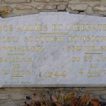 Tourville-sur-Odon, monument 15th, 43rd & 53rd Infantry Divisions