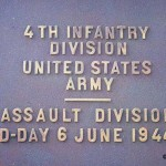 Sainte-Marie-du-Mont, Utah Beach monument 4th Infantry Division