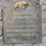 Saint-Georges-des-Groseillers, monument 11th Armoured Division