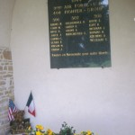 Saint-Martin-de-Blagny, plaque 404th Fighter Group