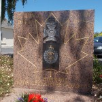Saint-Manvieu-Norrey, monument The Royal Regina Rifles & First Hussars