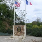 L'Etang-Bertrand, monument 9th US Air Force