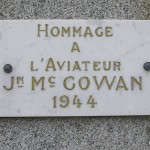 Moon-sur-Elle, plaque Lieutenant William McGowan
