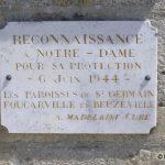 Saint-Germain-de-Varreville, plaque 6 juin 1944