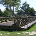 Colleville-sur-Mer, Overlord Museum, pont Bailey