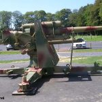 Colleville-sur-Mer, Overlord Museum, canon Flak 88