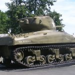 Colleville-sur-Mer, Overlord Museum, char Sherman M4