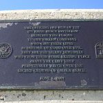 Colleville-sur-Mer, plaque 6th Naval Beach Battalion