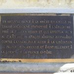Tour-en-Bessin, plaque 406th Fighter Group