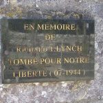 Regnéville-sur-Mer, plaque F. O. Richard Lynch