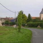 Airan, entrée du village