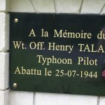 Airan, stèle Warrant Officer Henry Talalla