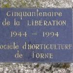 Alençon, stèle de la Libération