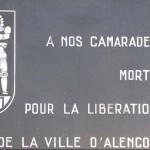 Alençon, plaque 501e RCC