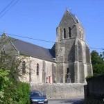 Amfreville (Manche), l'église