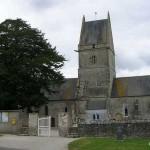 Angoville-au-Plain, l'église
