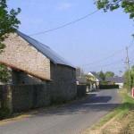 Azeville, l'entrée du bourg