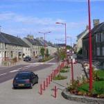 Baupte, la rue principale