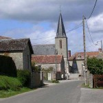 Belfonds, l'entrée du bourg