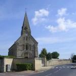 Bény-sur-Mer, l'église
