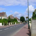 Bourguébus, la rue principale