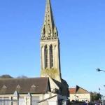 Bretteville-l'Orgueilleuse, l'église