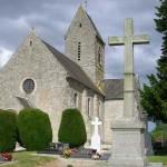 Brévands, l'église