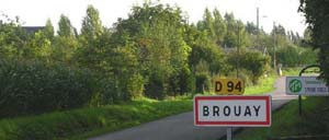 Brouay, ville lettrine