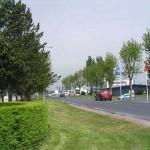 Carentan, la route de Saint-Côme-du-Mont