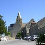 Cerisy-la-Forêt, l'église